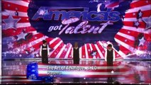 3 kids dancing americas got talent - TAT on Americas Got Talent