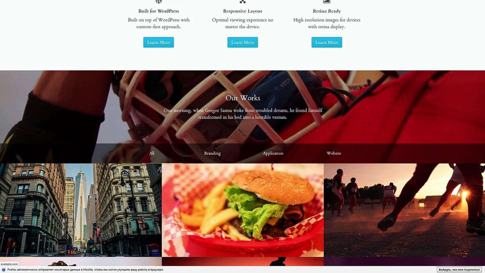 Rakata - Minimal Blog and Portfolio Theme
