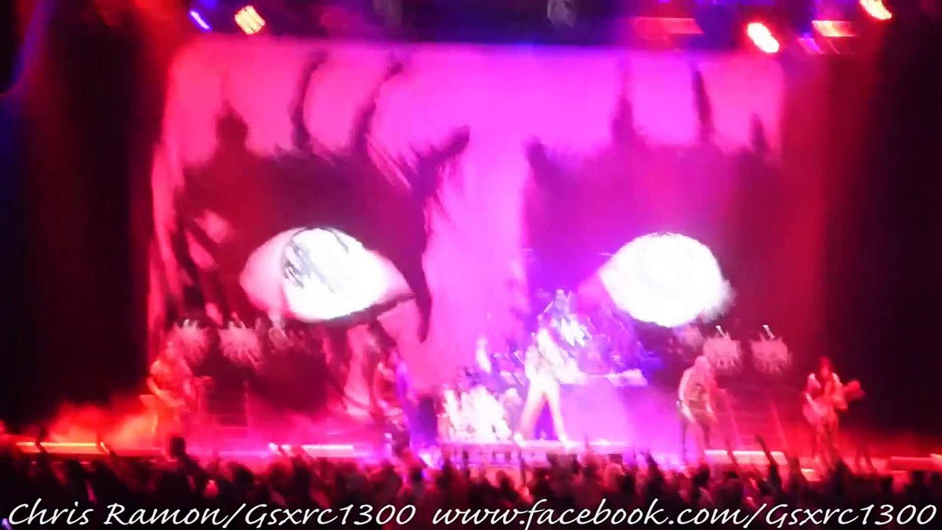 Alice Cooper - Dirty Diamonds (Bass, Drum, and Guitar Solos) LIVE San Antonio, Tx. 9/6/15 [HD]