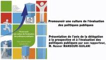 Promouvoir une culture de l'évaluation des politiques publiques - cese