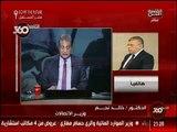 المهندس/ خالد نجم وزير الاتصالات وتكنولوجيا المعلومات في مداخلة تليفونية لبرنامج 360