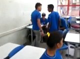 School Bully Knocked Out Twice - Fight new