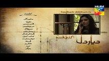 Diyar E Dil Episode 27 Promo on HUM TV Drama - 8th September 2015