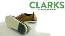 Clarks Dakin Walk Suede Shoes (For Men)