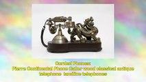 Pierre Continental Phone Caller wood classical antique telephone landline telephones