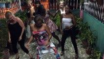 Stage à Cuba 28 juin au 5 juillet 2015 Démo reggaeton  filles  fete de fin de stage