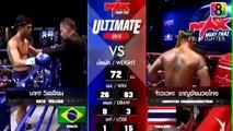 Max Muay Thai, Mata William Brazil Vs Jaowayha Thai 09 August 2015, Max Muay Thai