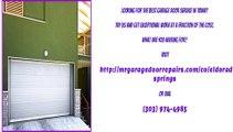 Garage Door Repair Services in Eldorado Springs, CO