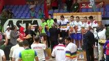 Les champions du Mondial Jeunes de Sport Boules, Casablanca 2015