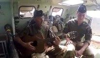 La chanson d'un soldat français au Mali