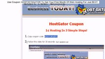 HostGator Coupons Tutorial - Hosting for 1¢ - HGATORVIP1
