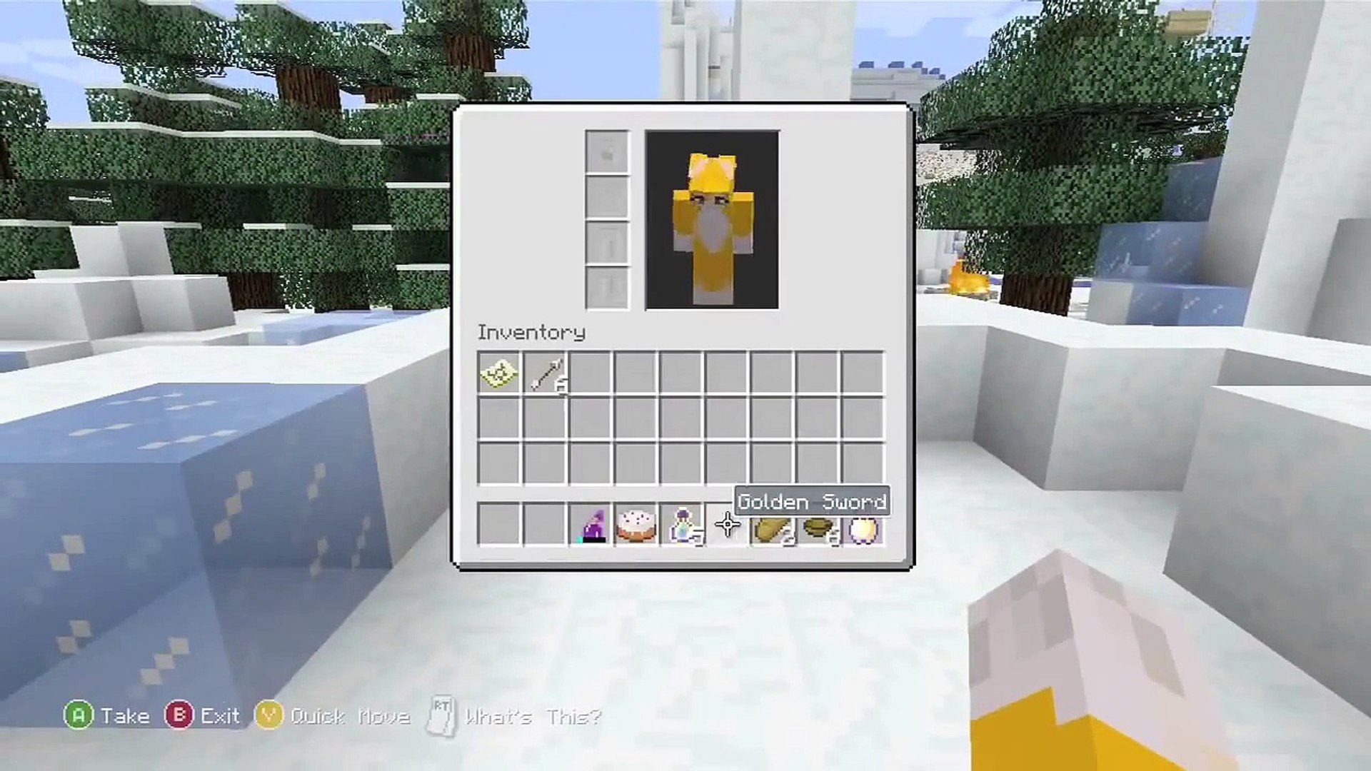 Minecraft Xbox - Lady And The Stamp - Hunger Games W/ LD Shadow Lady stampylonghead