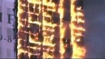Warum stürzt dieses brennende Hochhaus nicht zusammen ? Es wurde nicht gesprengt !