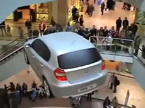 Flying Bmw 1series – Flying Car – Event – Car Show – Promotions