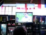England - Portugal game in UK pub (crazy)