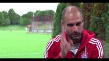 football hits :Meet Pep Guardiola Part 2 adidas Football Hits