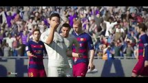 FIFA 2016 - GOALS and Highlights Real Madrid 4-1 Barcelona - FIFA16 & Highlights Goals