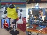Jóvenes construyen robot para niños con discapacidad