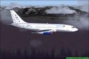 FS2004- Air Simmer A320 landing at WBKK - video dailymotion