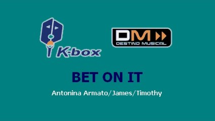 Karaoke Box - Bet On It (In The Style Of / Al Estilo De : High School Musical) - (Karaoke)