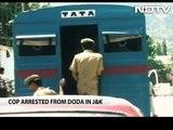 J&K cop held for allegedly running militant module