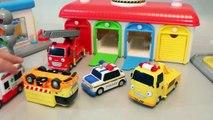 Ô tô đồ chơi trẻ em - Xe cảnh sát, xe cần cẩu, xe bus, xe cứu hỏa, xe cấp cứu - Tayo little bus