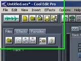 Cool Edit Pro-Noise Reduction