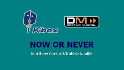 Karaoke Box - Now Or Never (In The Style Of / Al Estilo De : High School Musical) - (Karaoke)