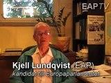 Kjell Lundqvist (EAP) svarar på fråga om Laval-domen