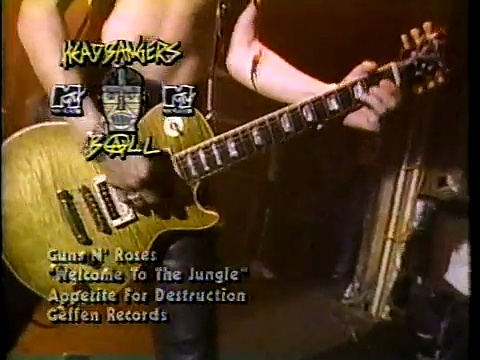 Guns N' Roses – Welcome To The Jungle – Live @ The Ritz 1988