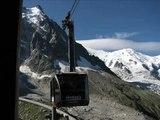 téléphérique de l'Aiguille du Midi  - Chamonix Mont Blanc