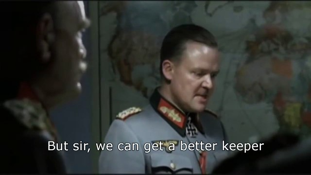 Hitler finds out Petr Cech has gone to Arsenal