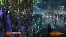 Batman Arkham Knight vs Batman Arkham City (4K\PC)