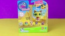 Littlest Pet Shop Walkables Dancing Cat LPS Cat Dance LPS Kitty Figurine Toy Review DisneyCarToys