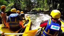 Bali flying fox Adventure + Bali Rafting Tour (Bali White Water River Rafting - Bali Rafting Adventure - Bali Rafting Trip - Alam White Water Rafting In Bali)