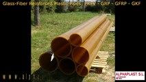 Alphaplast: Fabricación de tubos de fibra de vidrio anticorrosivo, GFRP