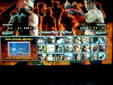 Tekken 5 DR Match 1: Hwoarang Vs Jin Kazama