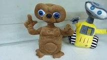 Peluche E.T y Peluche Wall-e grabadores de voz