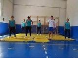 1ºBCT Coreografía de Acrosport IES SANTA AURELIA 2011/2012. Grupo 3