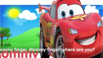 Cars 2 Finger Family Cars toon - Cars 2 Cartoon Animation Nursery Rhymes For Children