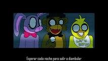 Five Nights at Freddy's Song Animacion+Subtitulos español