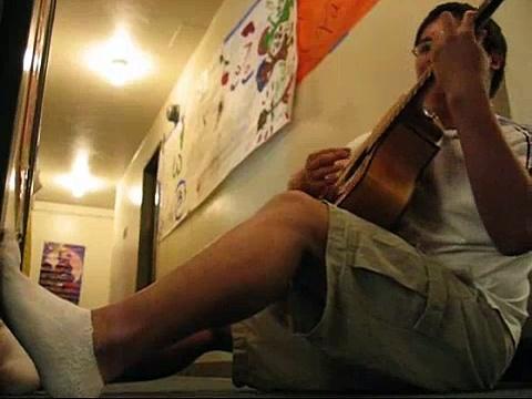 Acoustic guitar action