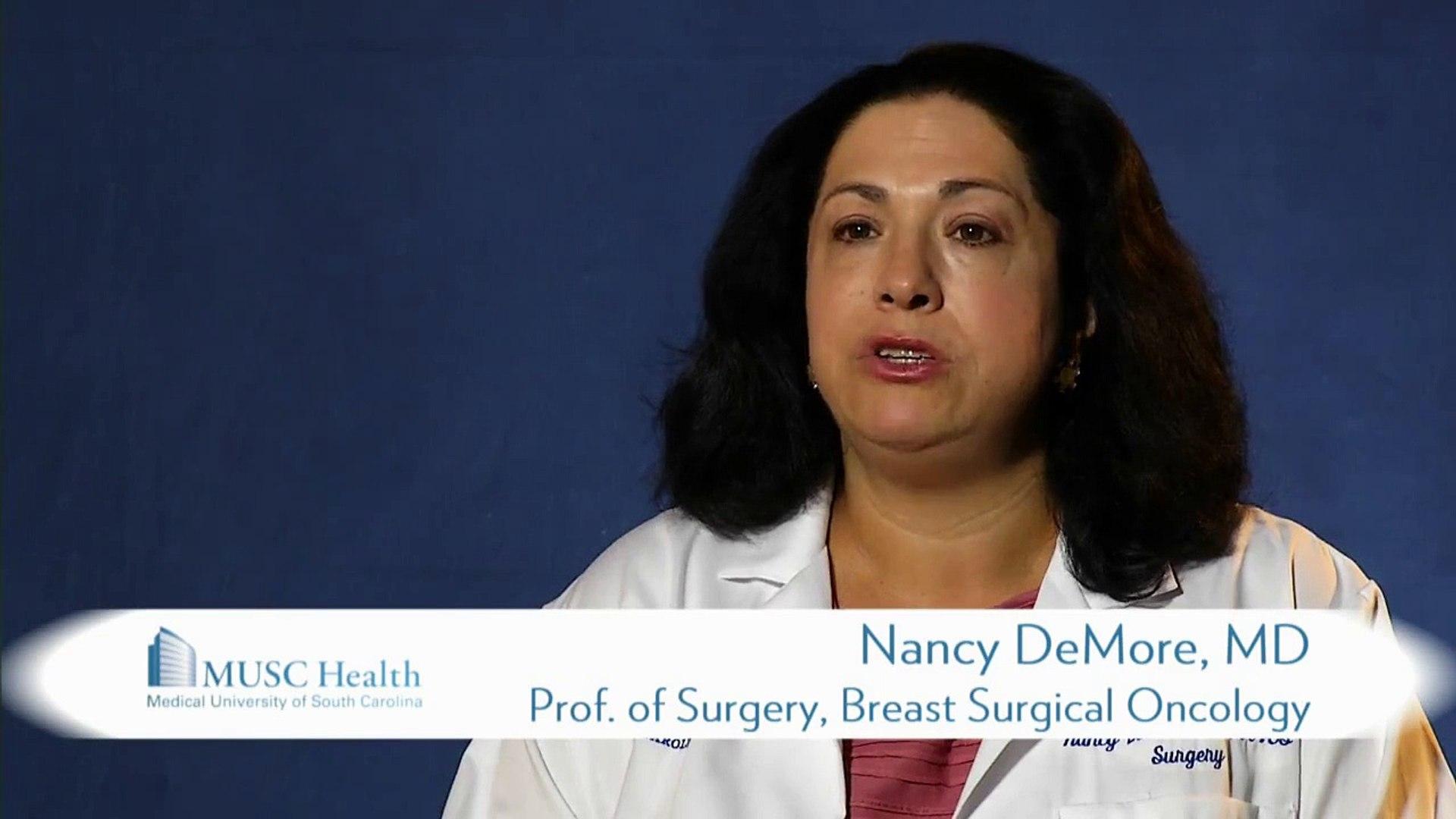 Meet Nancy DeMore, M D  a Breast Cancer Surgeon at MUSC Health