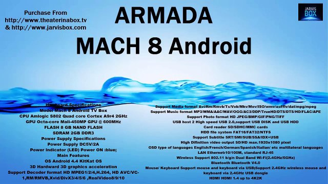 Review - Armada Mach 8 Android Edition