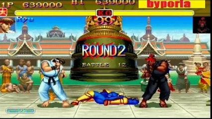 Ryu vs Akuma Super Street Fighter 2 Turbo