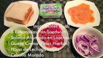 SANDWICH CLUB CON SALMÓN -  SALMÓN CLUB - Recetas de Sandwiches