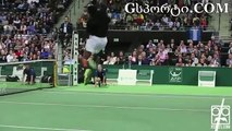 Gael Monfils  Tennis Trick Shot Master Supercut Compilation