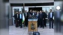 Meshal promete liberar Jerusalén y Cisjordania en su histórica visita a Gaza