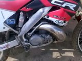 Riding Honda Cr 250 r  Full cross . By razva125 ;) honda cr