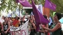 Manifestation de Jeunes Féministes - Marche Mondiale des Femmes - Juillet 2011 Toulouse